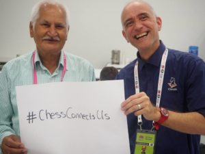 Australian and Indian press reporting on the Olympiad. Chess Truly Connects Us!