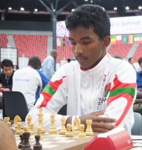 FIDE Master Fy Antenaine Rakotomaharo