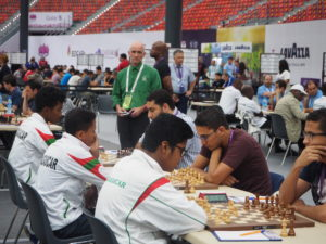 Madagascar team in action for round 4