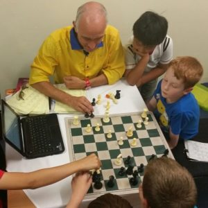 Game analysis during a tournament